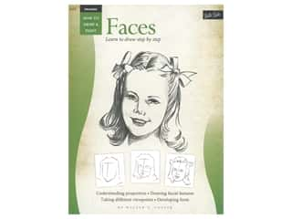 books & patterns: Walter Foster How to Draw & Paint Drawing Faces Book