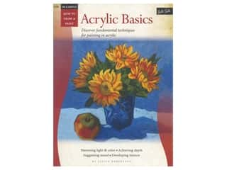 books & patterns: Walter Foster How to Draw & Paint Oil & Acrylic Acrylic Basics Book