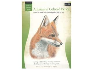 books & patterns: Walter Foster How to Draw & Paint Drawing Animals in Colored Pencil Book