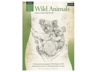 books & patterns: Walter Foster How to Draw & Paint Drawing Wild Animals Book