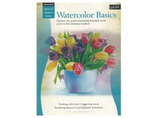 books & patterns: Walter Foster How to Draw & Paint Watercolor Basics Book