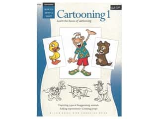 books & patterns: Walter Foster How to Draw & Paint Cartooning 1 Book