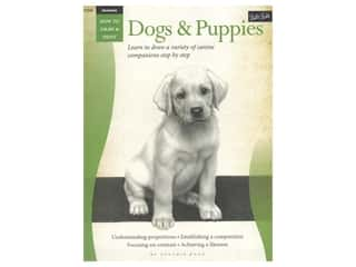 Walter Foster How to Draw & Paint Drawing Dogs & Puppies Book