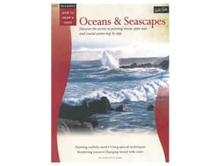 Walter Foster How to Draw & Paint Oil & Acrylic Oceans and Seascapes Book