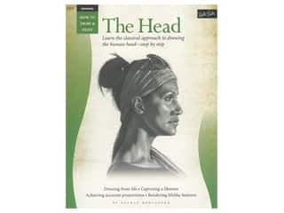 books & patterns: Walter Foster How to Draw & Paint Drawing The Head Book