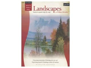 books & patterns: Walter Foster How to Draw & Paint Oil & Acrylic Landscapes Book
