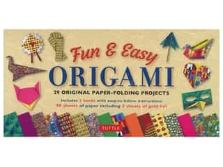 scrapbooking & paper crafts: Tuttle Fun & Easy Origami Kit & Book