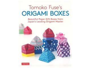 books & patterns: Tuttle Tomoko Fuse's Origami Boxes Book