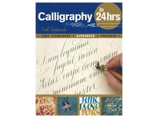 books & patterns: Barrons Calligraphy In 24 hrs Book