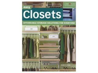 books & patterns: Creative Homeowner Easy Closets Book