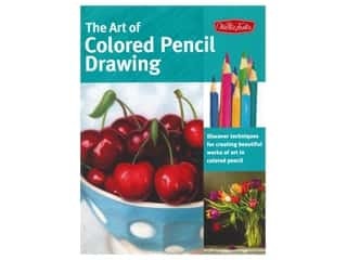 Walter Foster The Art of Colored Pencil Drawing Book