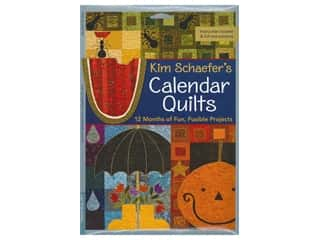 books & patterns: C&T Publishing Kim Schaefer's Calendar Quilts Book