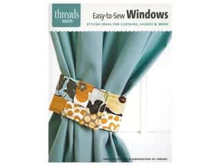 Taunton Press Threads Selects Easy To Sew Windows Book