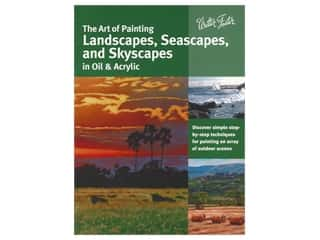 books & patterns: Walter Foster The Art of Painting Landscapes, Seascapes, and Skyscapes in Oil & Acrylic Book