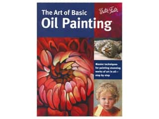 books & patterns: Walter Foster The Art of Basic Oil Painting Book