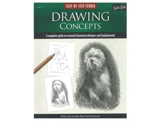 books & patterns: Walter Foster Step By Step Studio Drawing Concepts Book