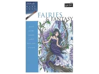 Walter Foster Watercolor Made Easy Fairies & Fantasy Book