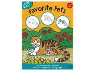 books & patterns: Walter Foster Jr I Can Draw! Favorite Pets Book