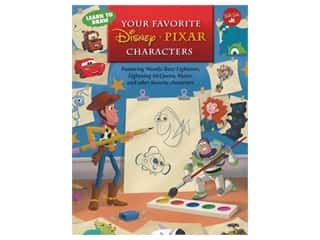 Walter Foster Jr Learn To Draw Your Favorite Disney Pixar Characters Book