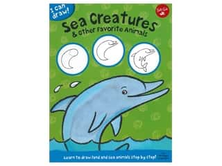 books & patterns: Walter Foster Jr I Can Draw! Sea Creatures & Other Favorite Animals Book