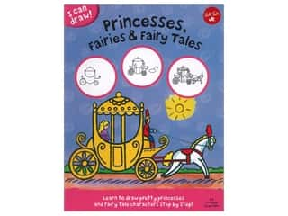 Walter Foster Jr I Can Draw! Princesses, Fairies & Fairy Tales Book