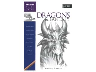 books & patterns: Walter Foster Drawing Made Easy Dragons & Fantasy Book