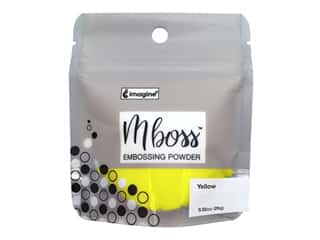 Imagine Crafts Mboss Powder .80oz Yellow