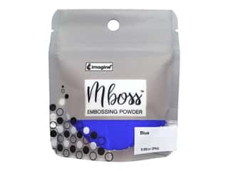 Imagine Crafts Mboss Powder .80oz Blue
