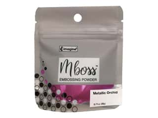 Imagine Crafts Mboss Powder .55oz Metallic Orchid