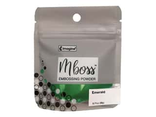 Imagine Crafts Mboss Powder .55oz Emerald