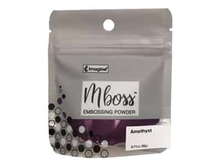 Imagine Crafts Mboss Powder .55oz Amethyst