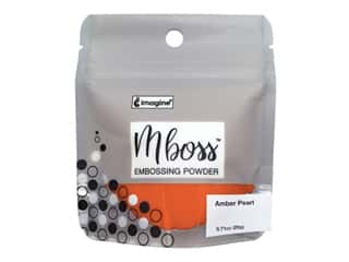 Imagine Crafts Mboss Powder .55oz Amber Pearl