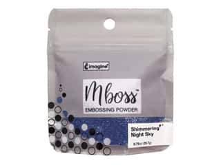 Imagine Crafts Mboss Powder .56oz Shimmering Night Sky