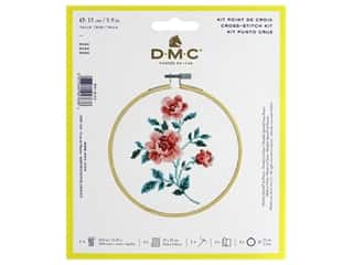 DMC Counted Cross Stitch Kit Rose