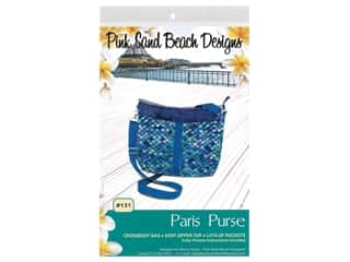 Pink Sand Beach Designs Paris Purse Pattern