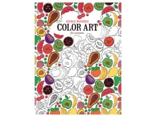 Leisure Arts Edible Wonders Color Art For Everyone Coloring Book