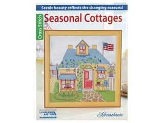 Leisure Arts Herrschners Seasonal Cottages Cross Stitch Book
