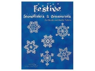 books & patterns: Handy Hands Festive Snowflakes & Ornaments Tatting Book