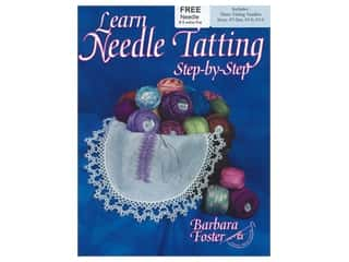 books & patterns: Handy Hands Learn Needle Tatting Step By Step Needles & Book