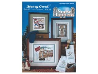 books & patterns: Stoney Creek Snow Happens Cross Stitch Book