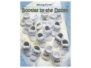 Stoney Creek Booties By The Dozen Cross Stitch Book