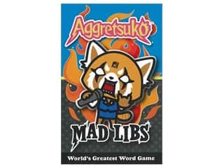 Price Stern Sloan Mad Libs Aggretsuko Book