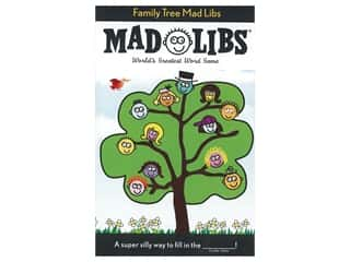 Price Stern Sloan Mad Libs Family Tree Book