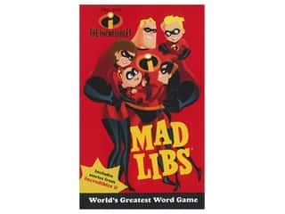 Price Stern Sloan The Incredibles Mad Libs Book