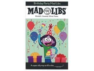 Price Stern Sloan Mad Libs Birthday Party Book