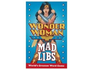 Price Stern Sloan Mad Libs Wonder Woman Book