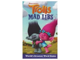 Price Stern Sloan Trolls Mad Libs Book