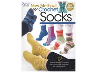 Annie's Crochet New Method For Crochet Socks Book