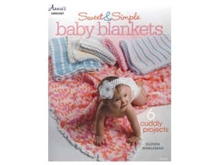 books & patterns: Annie's Crochet Quick & Simple Baby Blankets Book