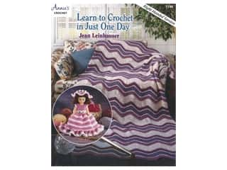 Annie's Crochet Learn to Crochet in Just One Day Book